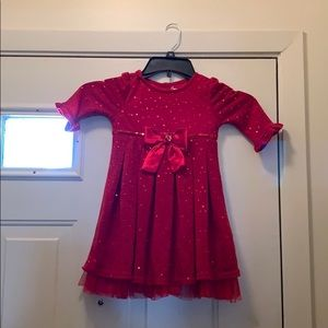 Youngland Christmas Dress Size 4 Pre Owned